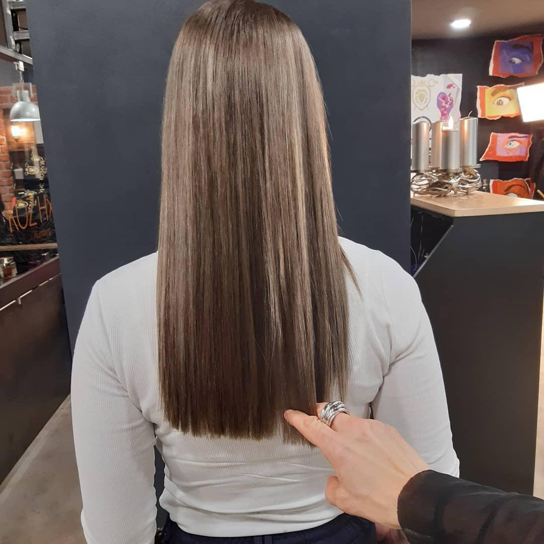 Damen Haarschnitt Beispiele