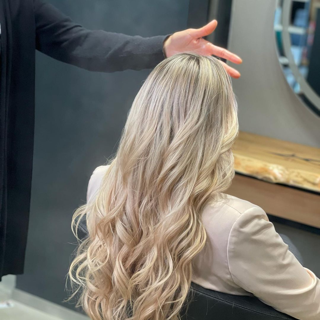 Damen Haarschnitt Beispiel